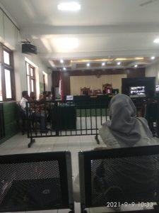 Sidang Gugatan Pra Peradilan dengan agenda pembacaan Putusan
